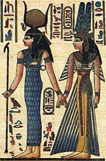 the great love story of isis and osiris