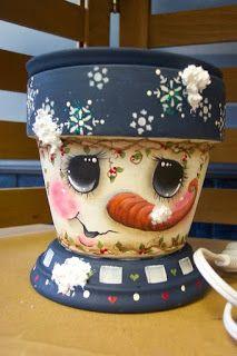 Não Digas Nada a Ninguém: #Decoração - Vasos de Natal
