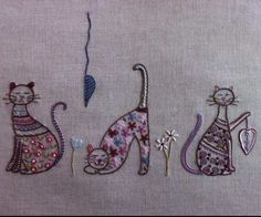 Trois petits chats... - L'atelier des dix doigts (le blog de Catherine)