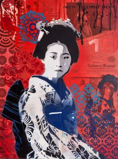 Urban Pop Art from New Zealand-based artist Brad Novak (aka New Blood Pop) Artist Painting, Graphic Artist, Artist, Artist Models, Collage Art Mixed Media, Graphic Design Pattern, Asian Painting, Pop Artist, Pop Art