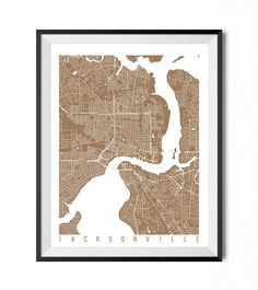 Hey, I found this really awesome Etsy listing at https://www.etsy.com/listing/213563374/jacksonville-map-art-print-florida