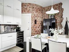 Скандинавская квартира, в которой живется легко (80 кв. м)   Пуфик - блог о дизайне интерьера