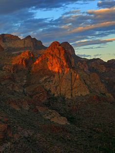 Mountain Bluff, Tonto National Forest, Arizona