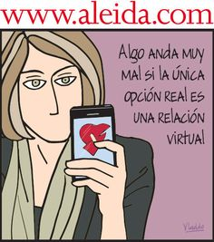 Aleida y las relaciones virtuales , Caricaturas - Edición Impresa Semana.com - Últimas Noticias