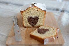 Valentine's surprise cake - Bizcocho sorpresa de San Valentín