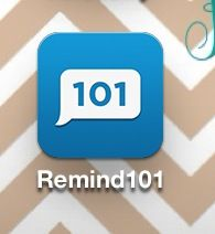Remind 101; This is an app for instructors to be able to remind students of things for class without either having to know the other's phone number. You can create different messages to send to your different courses.