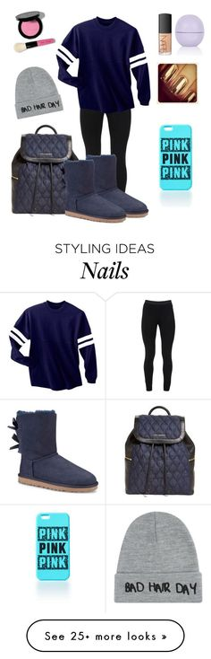 Untitled #906 by dogs109 on Polyvore featuring Peace of Cloth, UGG Australia, Vera Bradley, Local Heroes, NARS Cosmetics, Bobbi Brown Cosmetics and Topshop