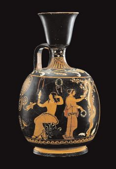 Lèkythos pestana a figure rosse con il giardino delle Esperidi Attribuita al ceramografo Assteas, ca. 350-340 a.C. Già J. Paul Getty Museum, Malibucartoline