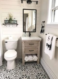 If you are looking for Small Bathroom Makeover Ideas, You come to the right place. Here are the Small Bathroom Makeover Ideas. This article about Small Bathr. Bathroom Design Small, Diy Bathroom Decor, Bathroom Styling, Bathroom Interior, Bathroom Storage, Bathroom Ideas, Bathroom Organization, Bathroom Designs, Bathroom Inspiration