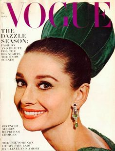 Audrey Hepburn - Vogue Cover