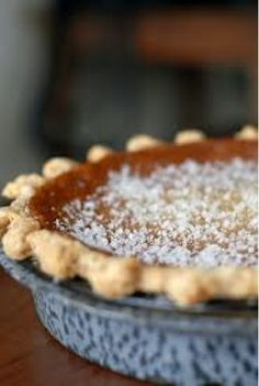 Salted Honey Pie. i have never heard of this! Looks SO tasty
