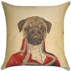 Pug Thierry Poncelet Belgian Tapestry Cushions http://www.abentleycushions.co.uk/detail.asp?pID=6424