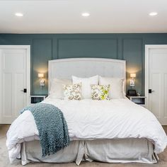 1000 Images About Blue Walls Master Bedroom On Pinterest Blue Master Bedr