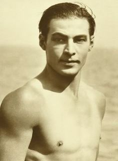 Rudolph Valentino - read about this guy. Americas first heart throb! And all because the guy could dance..... amazing story look it up