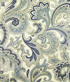 Swavelle / Mill Creek Montero Lustrous Porcelain Fabric...love this fabric!