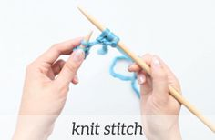 Learn how to knit with beautiful patterns and step-by-step video tutorials. It's fun and easy! Won't you join us?