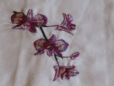 Flowers guest towel by AWondrousPlace on Etsy