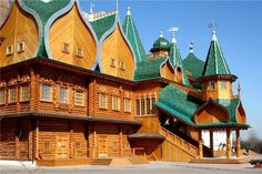 Russia ~ log mansion