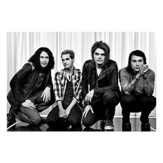 Listen to MY CHEMICAL ROMANCE's final song, 'Fake Your Death'. ❤ liked on Polyvore featuring bands, my chemical romance, pictures, people and backgrounds