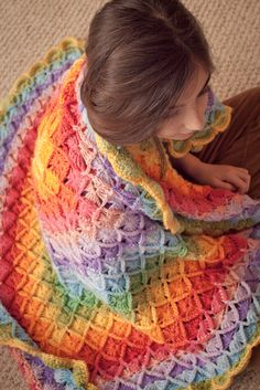 Bavarian Crochet Blanket (Wool Eater Stitch) | Mad Mad me - FINALLY!  THE RIGHT LINK!!!