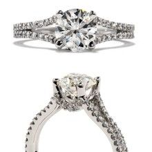 This is my ring!!!! HEARTS ON FIRE- FELICITY SPLIT SHANK SOLITAIRE.