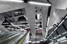 Subway station, Budapest