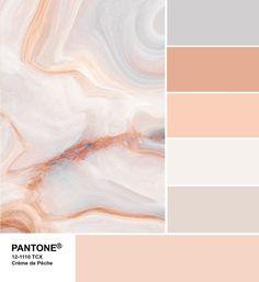 Модные цвета PANTON Осень — Зима 2019/2020