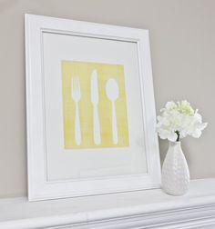 71 Best Knife Fork Amp Spoon Wall Art Images On Pinterest