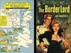 Dell Books 439 - Jan Westcott - The Border Lord (with mapback)