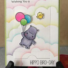 #mftstamps #creativeconstructionwithblueprints#birdiebrownhappyhippos#giftcardholder