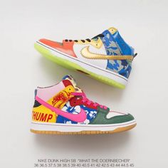 cheap for discount 25f81 d4c2f  79.00 What Was The First Pair Of Jordans,Nike SB Dunk High What The  Doernbecher