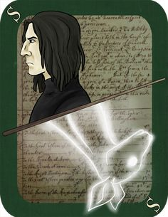 Always. I was going to save Snape for the very end of the deck. However, with the passing of Alan Rickman, I decided that now's a good time to draw the card. As soon as I saw Rickman on screen as Snape, I thought that the character had popped out of...