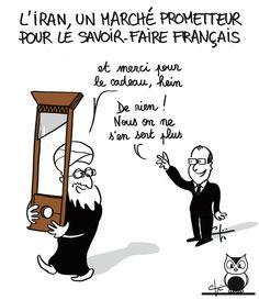 Visite d'Hassan Rohani à Paris - janvier 2016