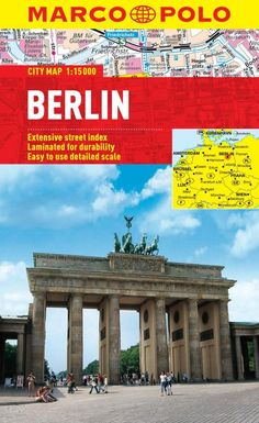 Buy map: Berlin, Germany by Marco Polo Travel Publishing Ltd – YellowMaps Map Store