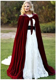 Clearbridal Women's Long Burgundy Velvet Shawl Cloak Wint... https://www.amazon.co.uk/dp/B01MFEUKA9/ref=cm_sw_r_pi_dp_x_VL6vybA3301D5