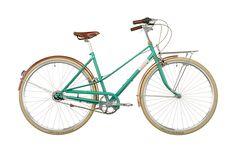 Creme Caferacer Doppio Lady 7-speed emerald green online kaufen   fahrrad.de