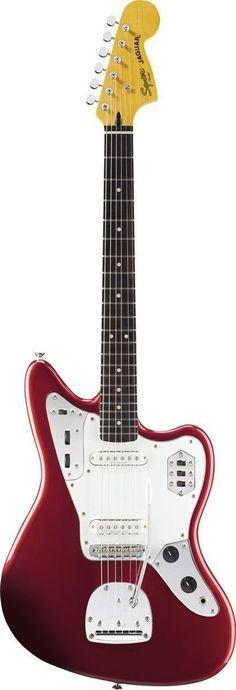 Squier Vintage Modified Jaguar Electric Guitar #beautifulguitars