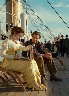 Kate Winslet & Leonardo DiCaprio - Titanic