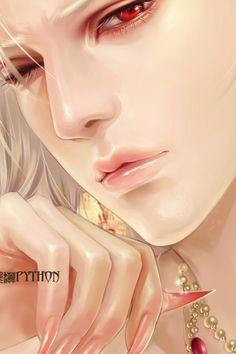 . Fantasy Art Men, Anime Fantasy, Ai No Kusabi, Hot Anime Boy, China Art, Guy Drawing, Anime Demon, Boy Art, Fantasy Characters