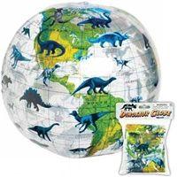 Toysmith Inflatable Dinosaur Globe Ball - Toysmith Inflatable Dinosaur Globe Balls, for kids, gifts, jurassic, prehistoric, shop, store, birthday party, favors, www.DinosaurToysSuperstore.com