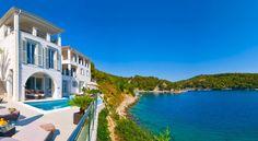 A view of Villa Playa, our newest villa on the Dalmatian coast in Croatia.