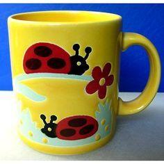 Waechtersbach Yellow Ladybug Mug