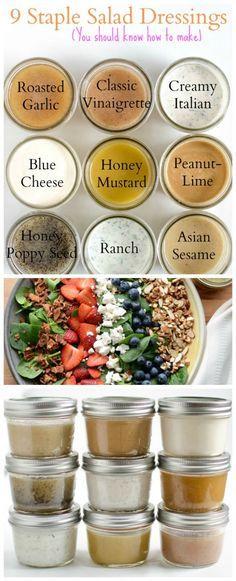 9 homemade salad dressing recipes you should know how to make!