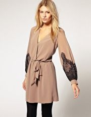 love long sleeve dresses & tights for fall/winter
