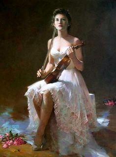 An He is a Chinese figurative painter born 1957 in Guangzhou.