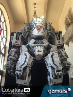 Who wouldn't want there own Titan mech suit