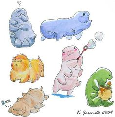What I imagine when someone mentions water bears.