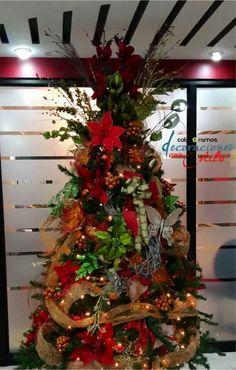 Decoración árbol navidad 2014