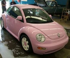 737 imagens sobre ꒰p i n k꒱ no We Heart It   Veja mais sobre pink, aesthetic e food Pink Beetle, Beetle Car, Pretty Cars, Cute Cars, My Dream Car, Dream Cars, Hippie Car, Car Volkswagen, Colors