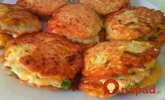5 recipes diet vegetable pancakes: simple to prepare and very tasty! Great side dish to meat or as a main dish! Ukrainian Recipes, Russian Recipes, Healthy Diet Recipes, Cooking Recipes, Simple Recipes, Pumpkin Fritters, Pumpkin Pancakes, Zucchini Pancakes, Good Food